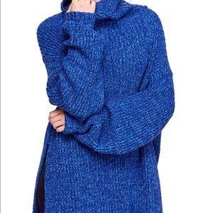 Free People Eleven Turtleneck Sweater: Size XS